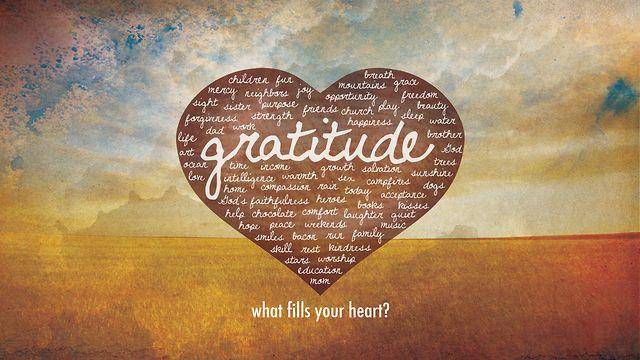 Gratitude Opens the Door to Self-Compassion