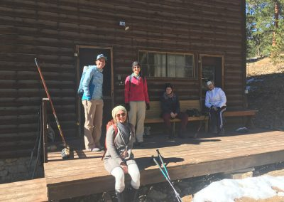 ~Hiking-group-on-porch